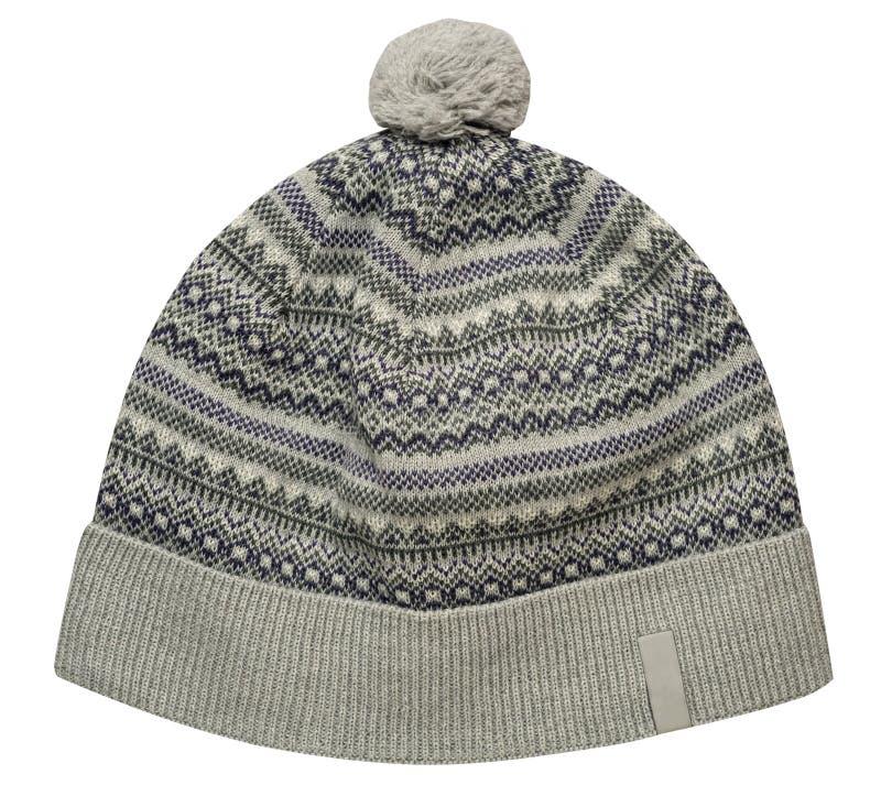 Uitgebreide hoed geïsoleerd op witte achtergrond royalty-vrije stock fotografie