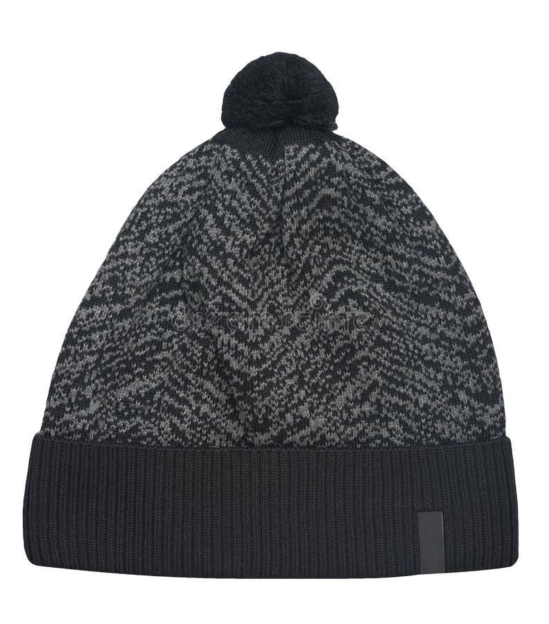 Uitgebreide hoed geïsoleerd op witte achtergrond stock foto