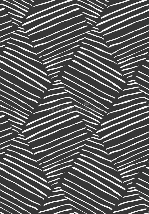 Uitgebroede diagonaal diamanten op zwarte royalty-vrije illustratie