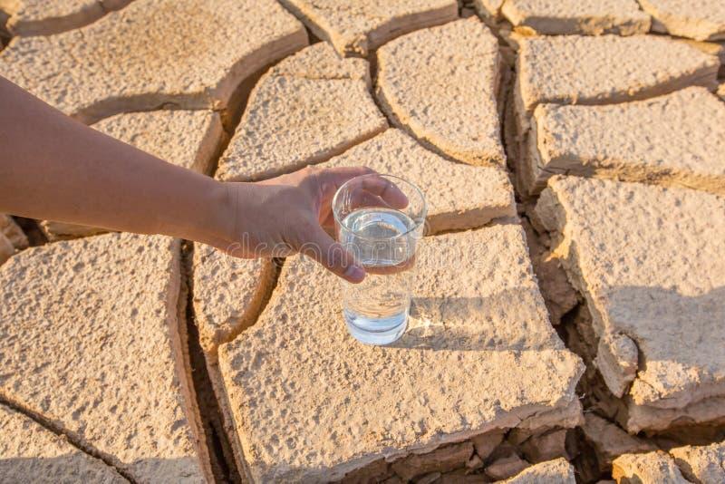 Uitgedroogd Grond en Water I stock foto
