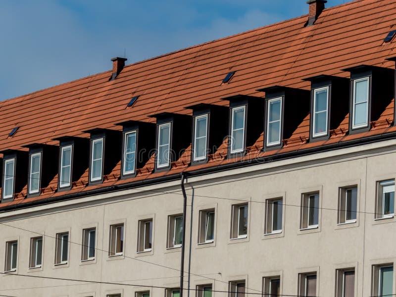 Uitgeruste flats in de zolder royalty-vrije stock foto