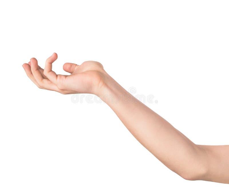 Uitgestrekte Hand stock foto