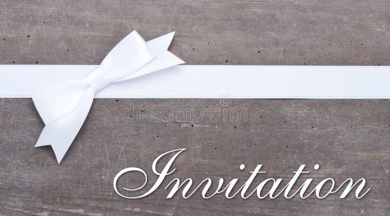 Uitnodiging stock fotografie