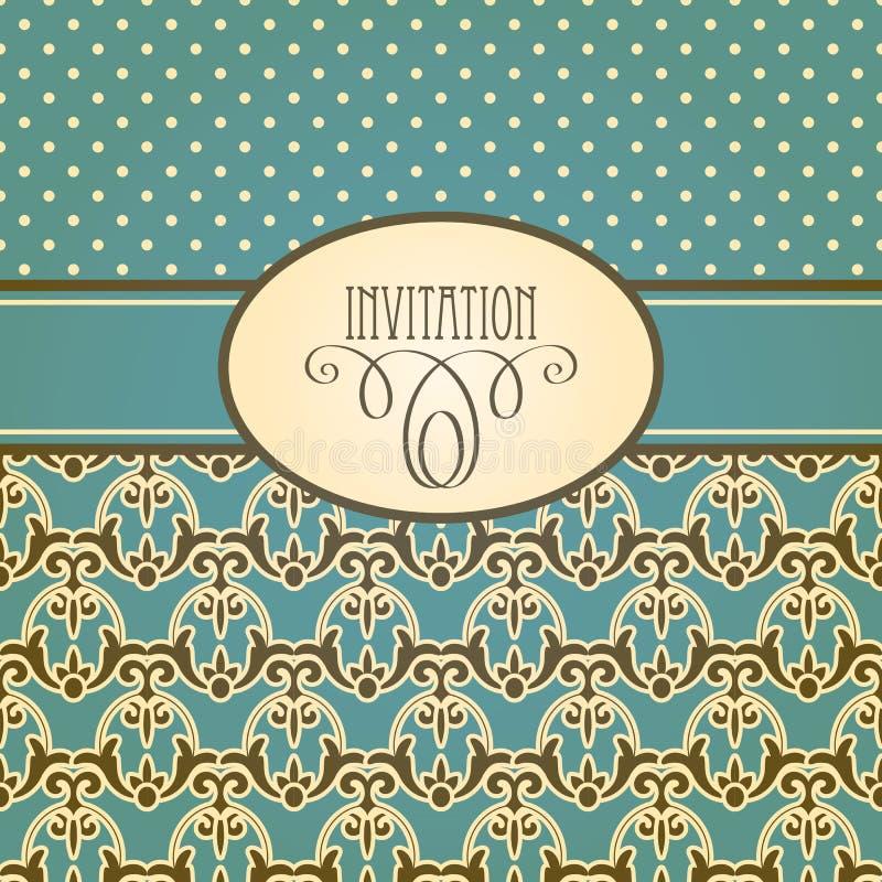 Download Uitnodigingskaart vector illustratie. Illustratie bestaande uit illustratie - 29506677