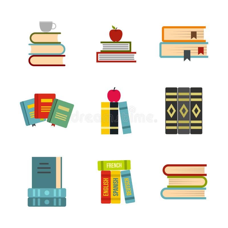 Download Uitrusting Van De Reeks Van Het Boekenpictogram, Vlakke Stijl Vector Illustratie - Illustratie bestaande uit boekhandel, document: 107706983