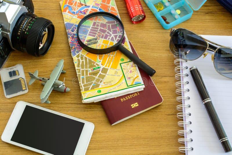 Uitrusting van reiziger stock foto's