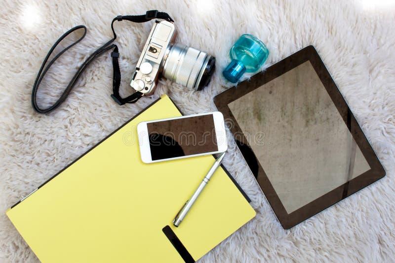 Uitrustingen voor moderne levensstijlen royalty-vrije stock foto's
