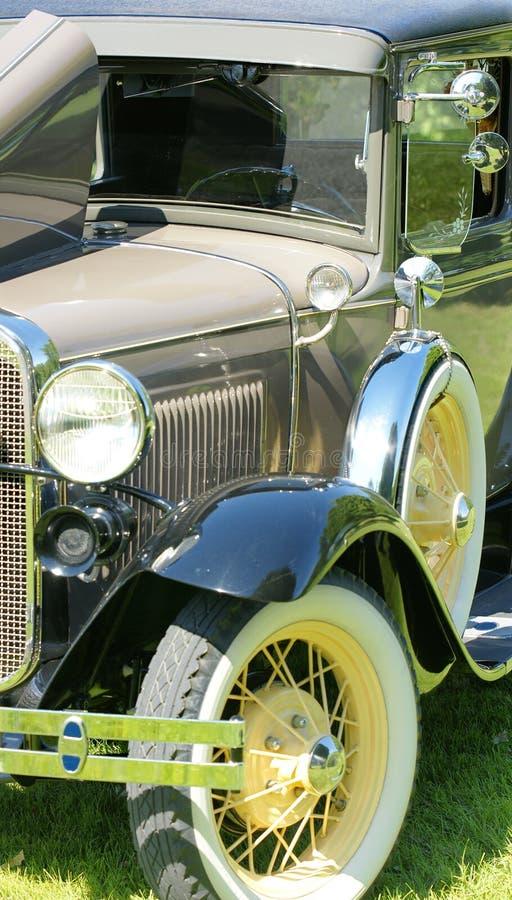 Uitstekend auto vooreind stock fotografie