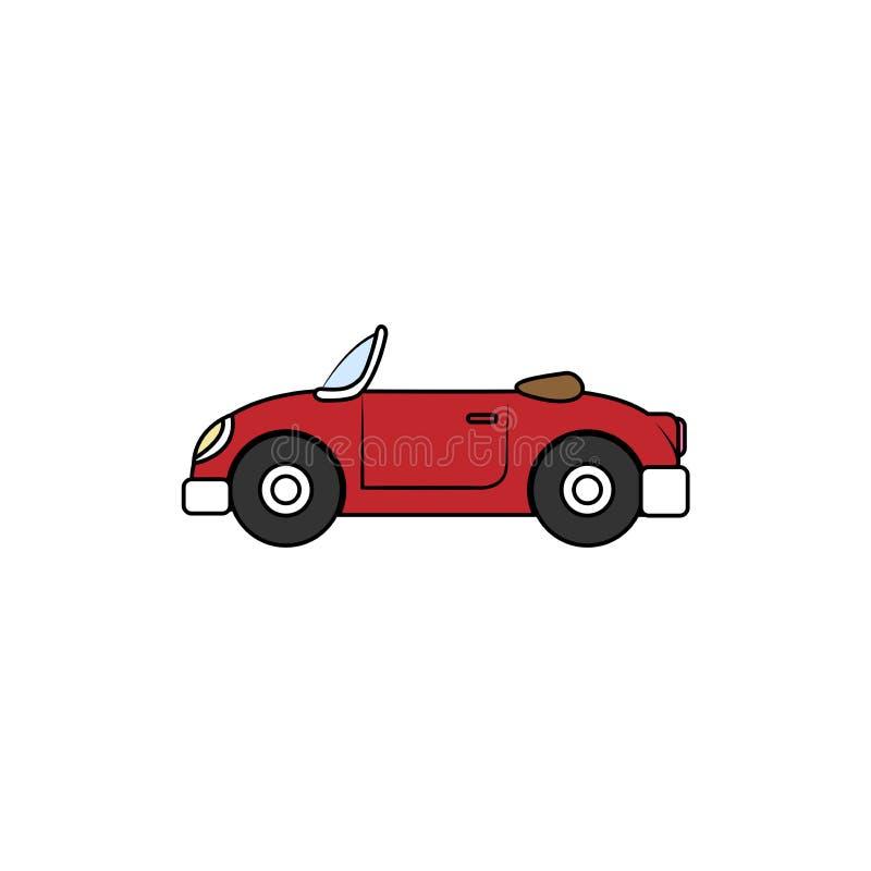 Uitstekend autobeeldverhaal, vectorillustratie vector illustratie