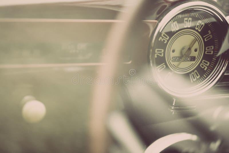 Uitstekend autodashboard stock fotografie