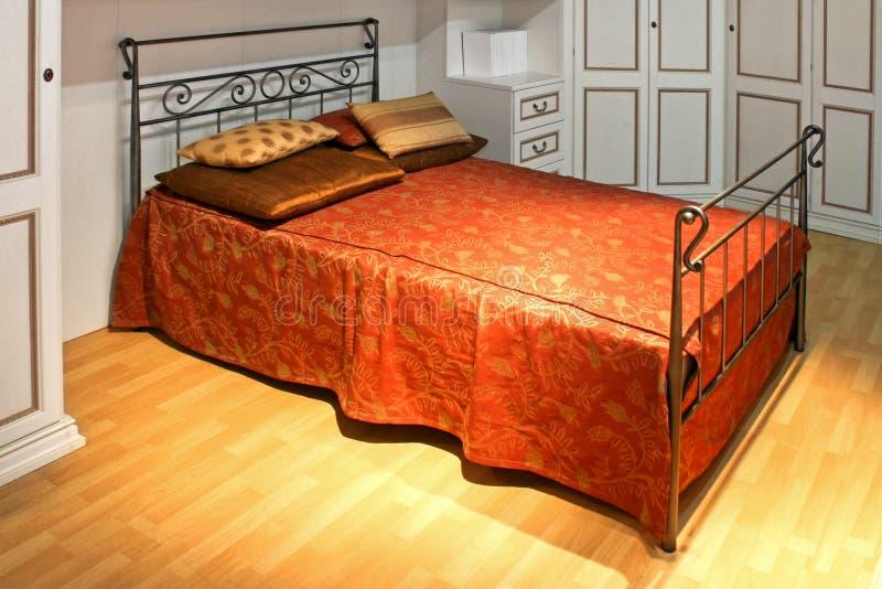 Uitstekend bed royalty-vrije stock foto's