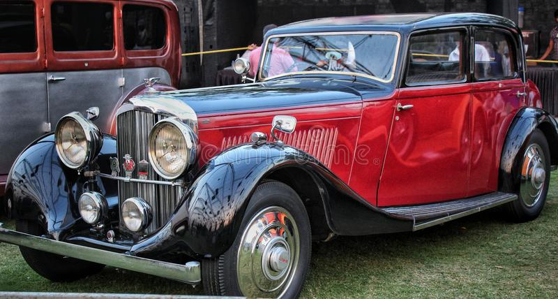 Uitstekend Bentley royalty-vrije stock afbeelding
