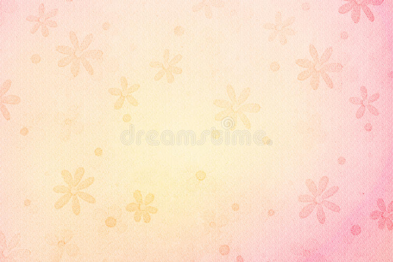 Uitstekende bloemachtergrond royalty-vrije stock afbeeldingen