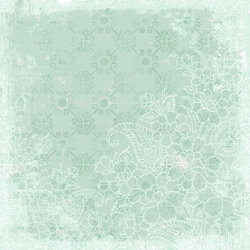 Uitstekend bloemen achtergrondKerstmisthema vector illustratie