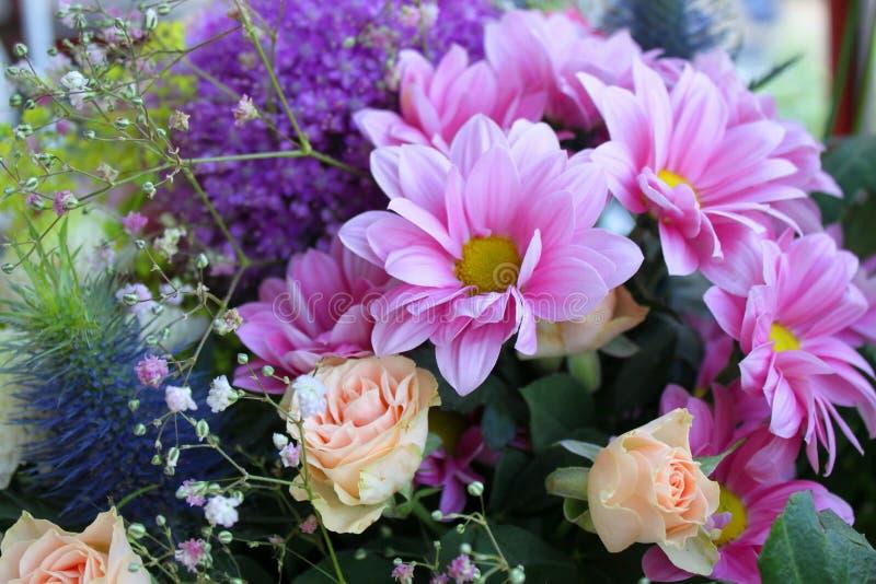 Uitstekend boeket van bloemen royalty-vrije stock foto's