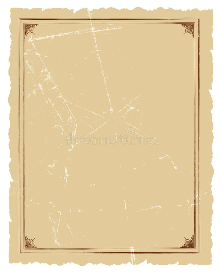 Uitstekend Decoratief van het Frame VectorOntwerp Als achtergrond stock illustratie