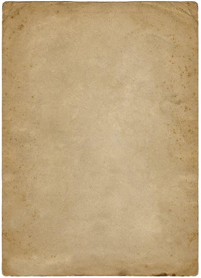 Uitstekend Document 1924 stock foto