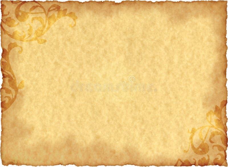 Uitstekend Document Grunge stock afbeelding