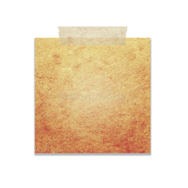 Uitstekend document royalty-vrije stock afbeelding