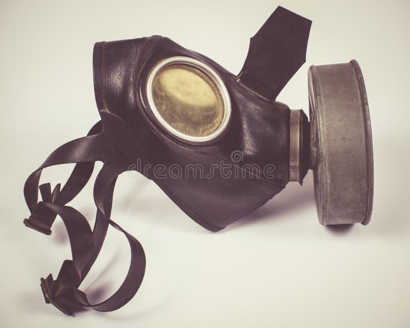 Uitstekend Duits burgerlijk gasmasker WO.II royalty-vrije stock foto's