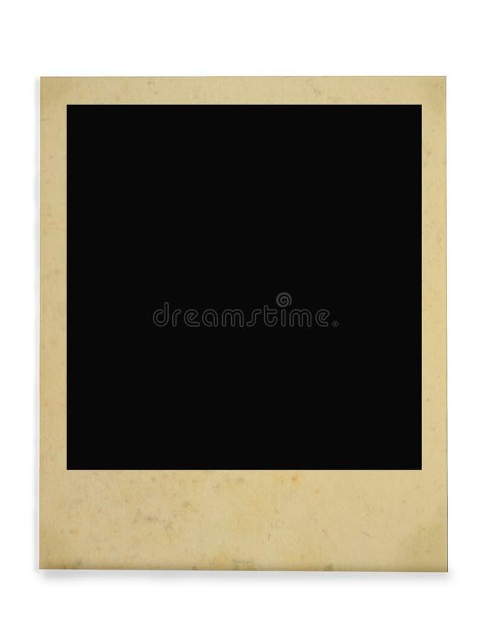 Uitstekend fotoframe stock afbeeldingen