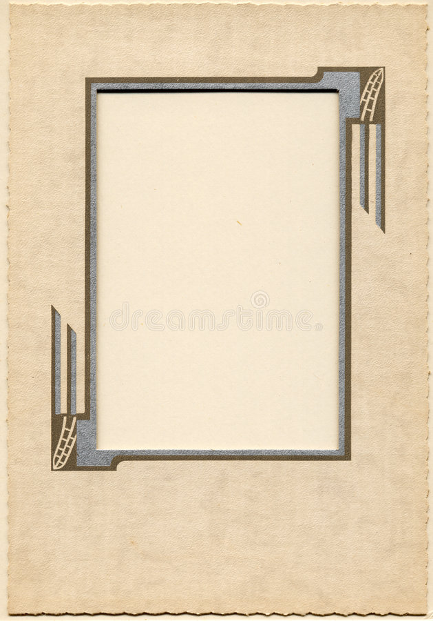 Uitstekend Frame 3 stock illustratie