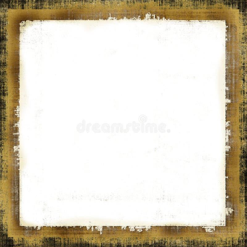 Uitstekend Frame Grunge royalty-vrije illustratie