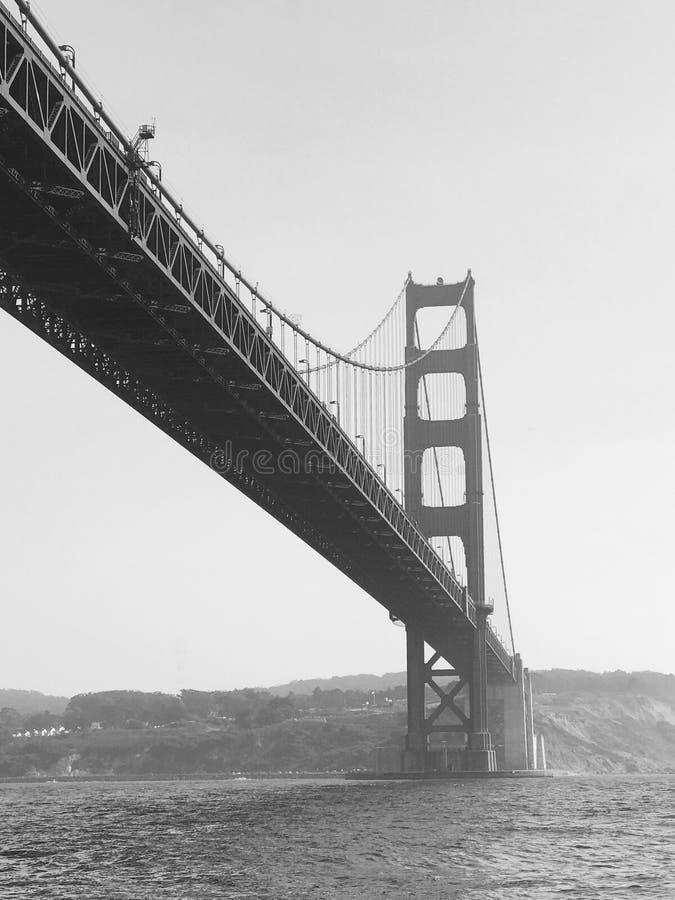 Uitstekend Golden gate bridge royalty-vrije stock foto