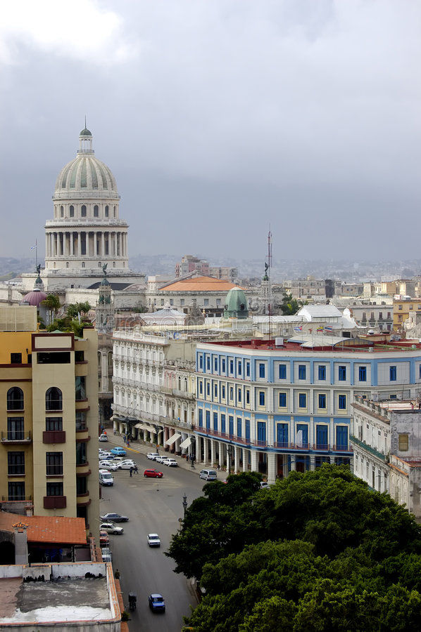 Uitstekend Havana Cuba stock foto's