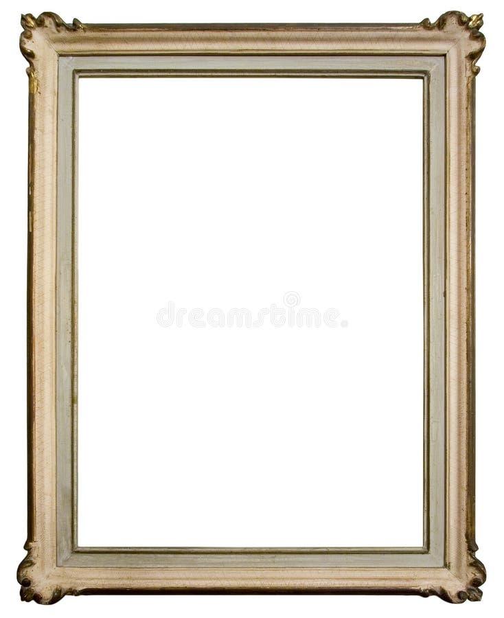 Uitstekend houten frame stock afbeeldingen