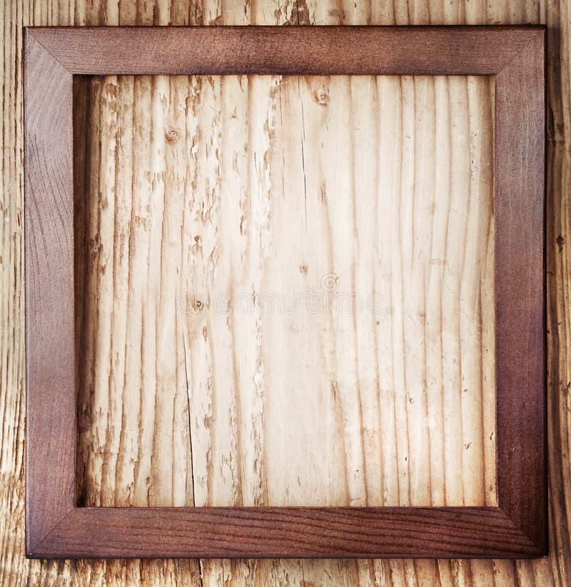 Uitstekend houten kader stock afbeelding