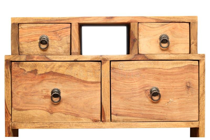 Uitstekend houten meubilair stock fotografie