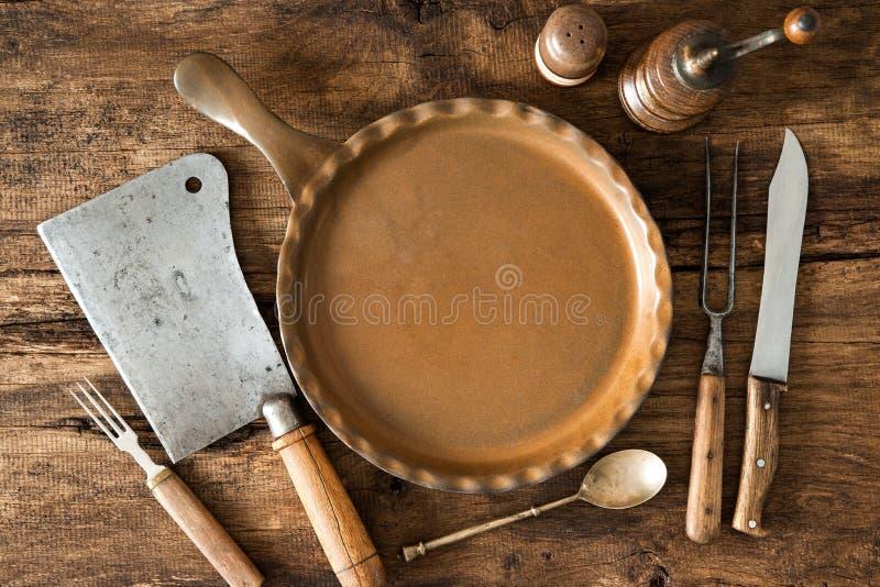 Uitstekend keukengerei royalty-vrije stock afbeelding