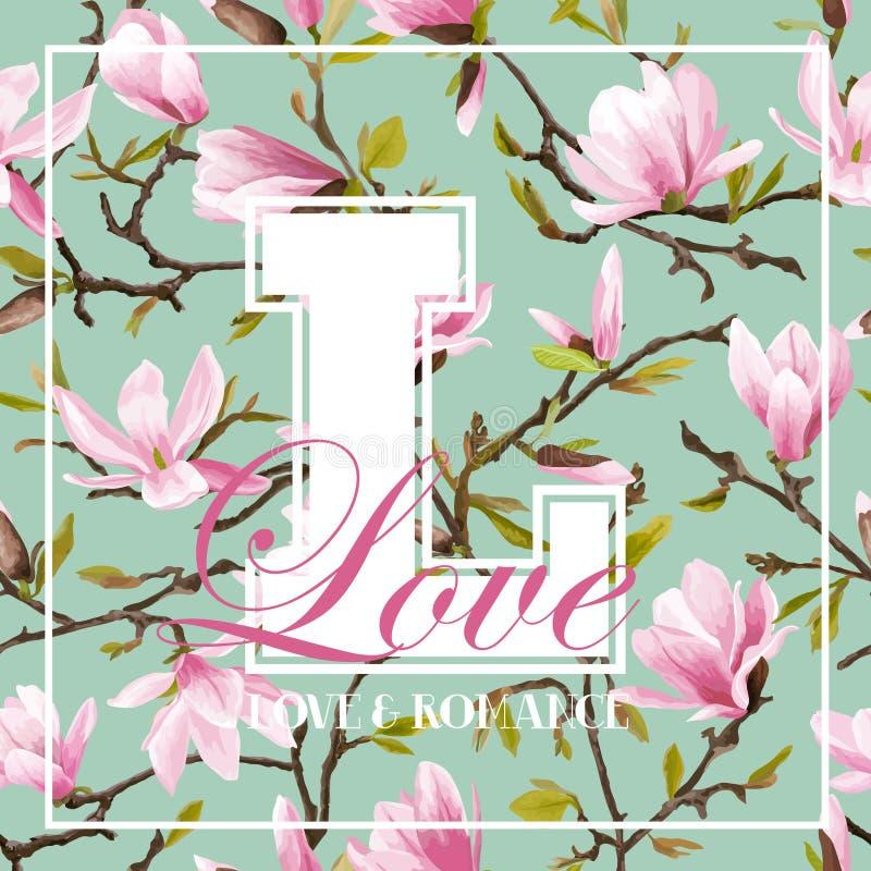 Uitstekend Kleurrijk Bloemen Grafisch Ontwerp - voor t-shirt, manier royalty-vrije illustratie