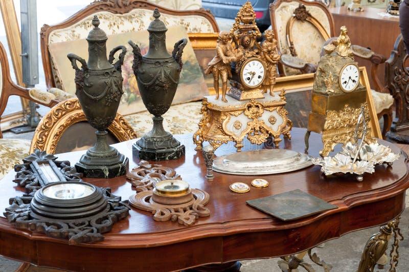 Antiquiteiten royalty-vrije stock afbeeldingen