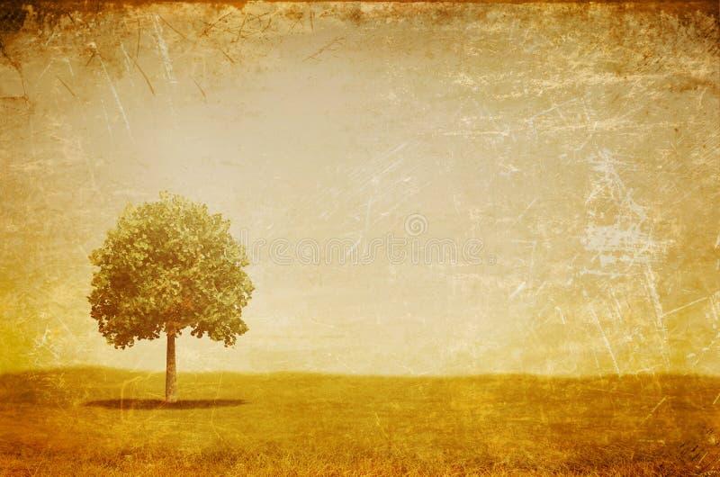 Uitstekend landschap vector illustratie