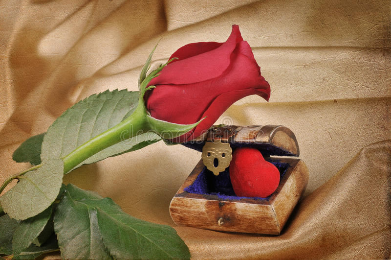 Uitstekend liefdebericht stock afbeeldingen