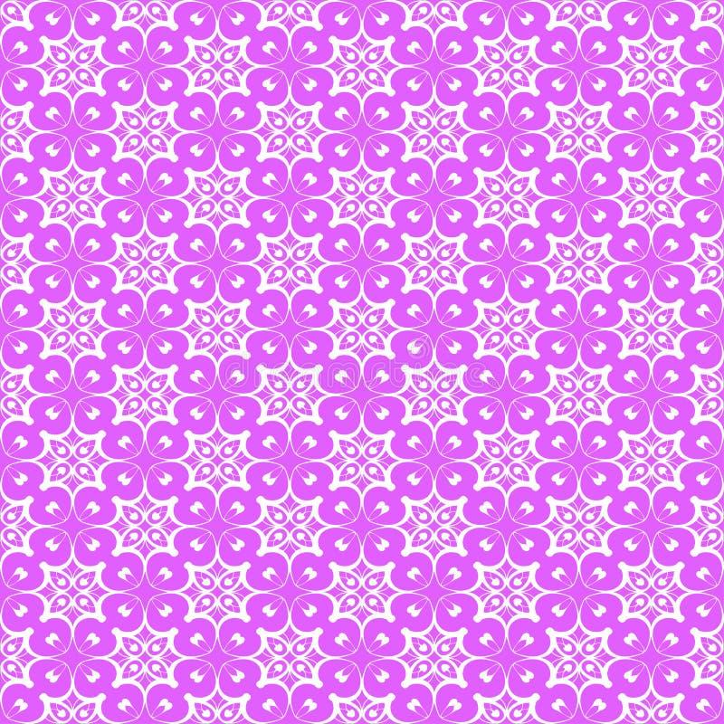 Uitstekend naadloos patroon stock illustratie