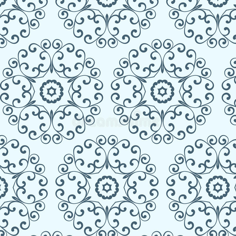 uitstekend naadloos patroon, behang met vector illustratie
