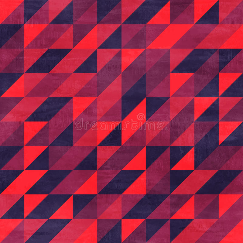 Uitstekend naadloos patroon met document textuur vector illustratie