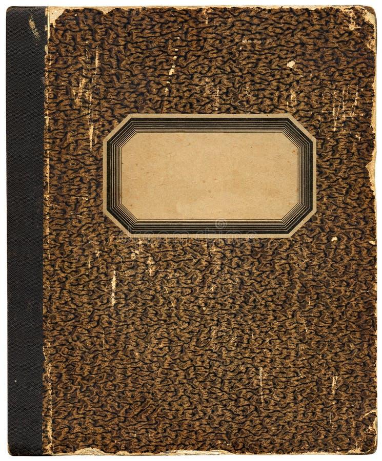 Uitstekend notitieboekje/kookboek royalty-vrije stock foto's