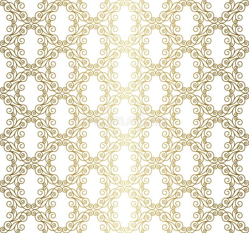 Uitstekend openwork patroon stock illustratie