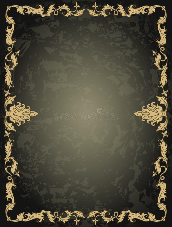 Download Uitstekend ornamentkader vector illustratie. Illustratie bestaande uit kromming - 54085400