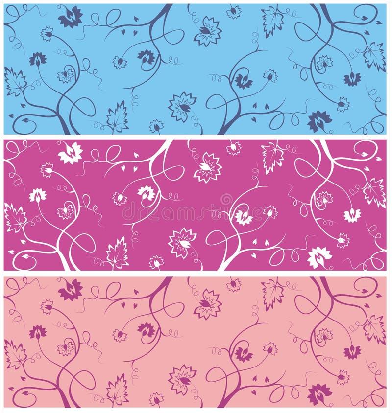 Uitstekend patroon vector illustratie