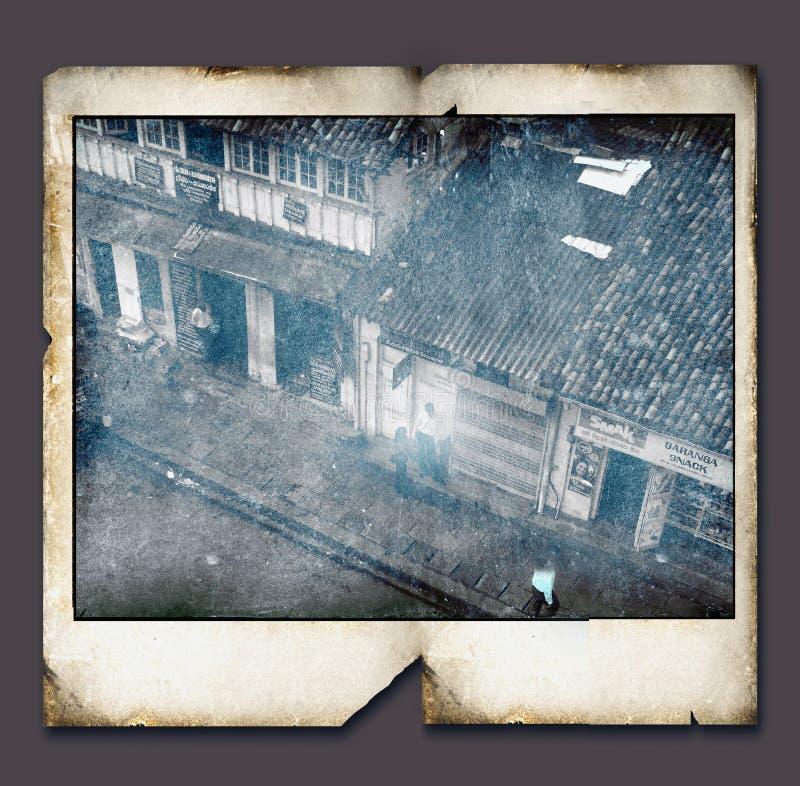 Uitstekend Polaroid- frame stock illustratie