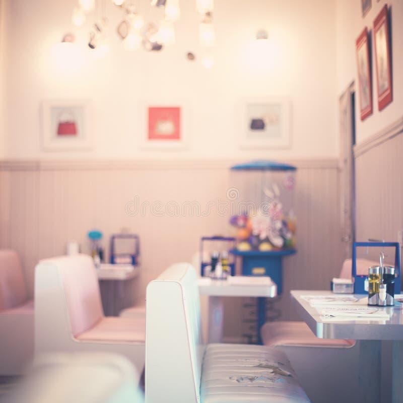 Uitstekend restaurant royalty-vrije stock afbeelding