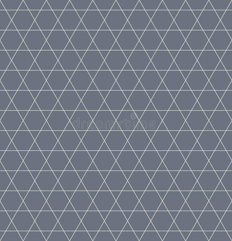 Uitstekend retro naadloos lijnpatroon vector illustratie