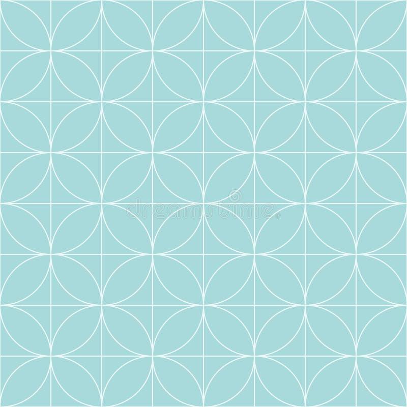 Uitstekend Retro naadloos patroon vector illustratie