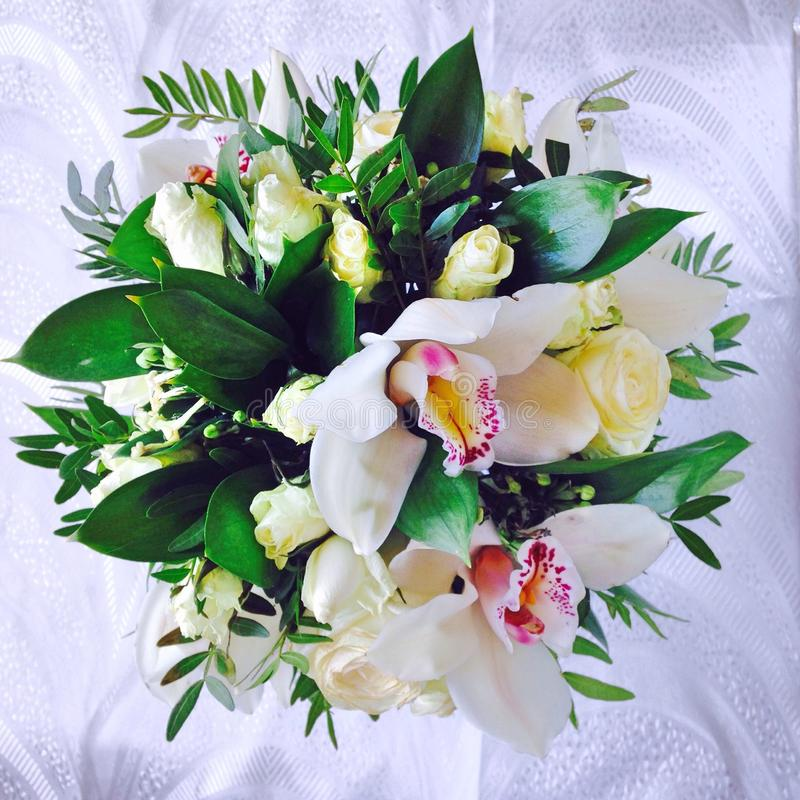 Uitstekend rozenboeket royalty-vrije stock fotografie
