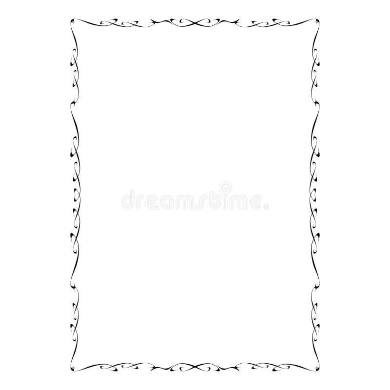 Uitstekend vectorkader royalty-vrije illustratie